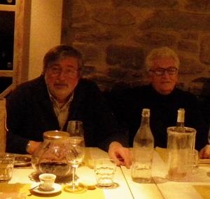 Francesco Guccini e Loriano Macchiavelli - Pavana gennaio 2012