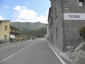 Ingresso a Pavana da Ponte della Venturina (PT)
