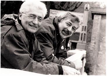 Loriano Macchiavelli e Francesco Guccini in Maccaroni'