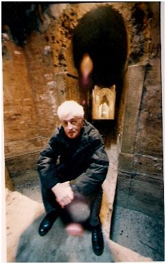 Loriano Macchiavelli nei sotterranei di Bologna 1