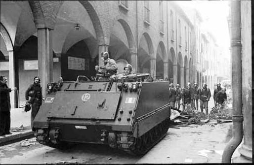 Bologna 13 marzo 1977 (da www.polizianellastoria.it)