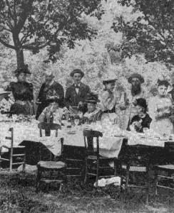 Proust a un party immagine tratta dal sito Equipe Signal et Communications Université Paris-Est Marne-La-Valée