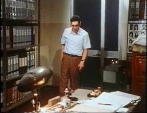 Flavio Bucci nel film L'archivista