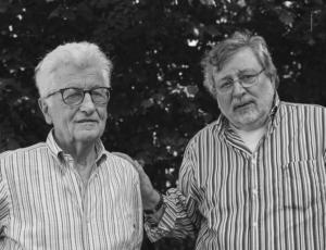 Loriano Macchiavelli e Francesco Guccini