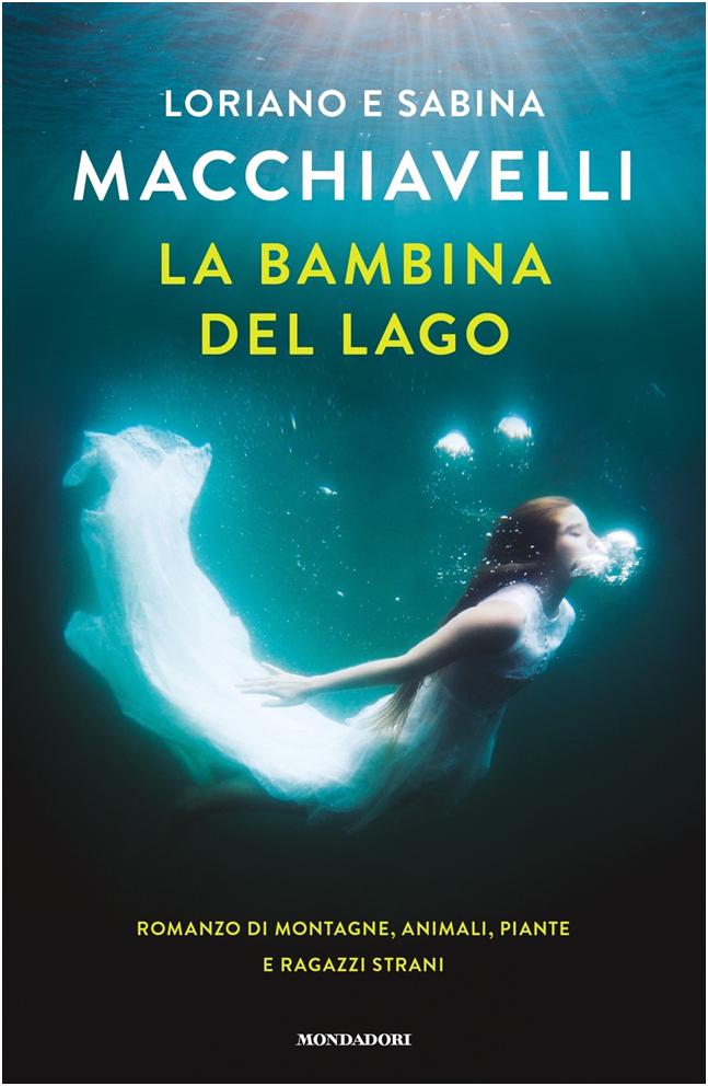 Copertina del libro La bambina del lago - Mondadori 2019